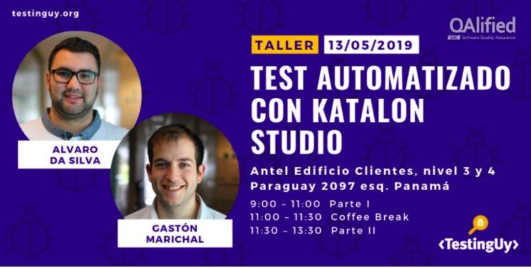 Automated test with Katalon Studio